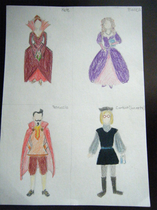 characters from taming of the shrew