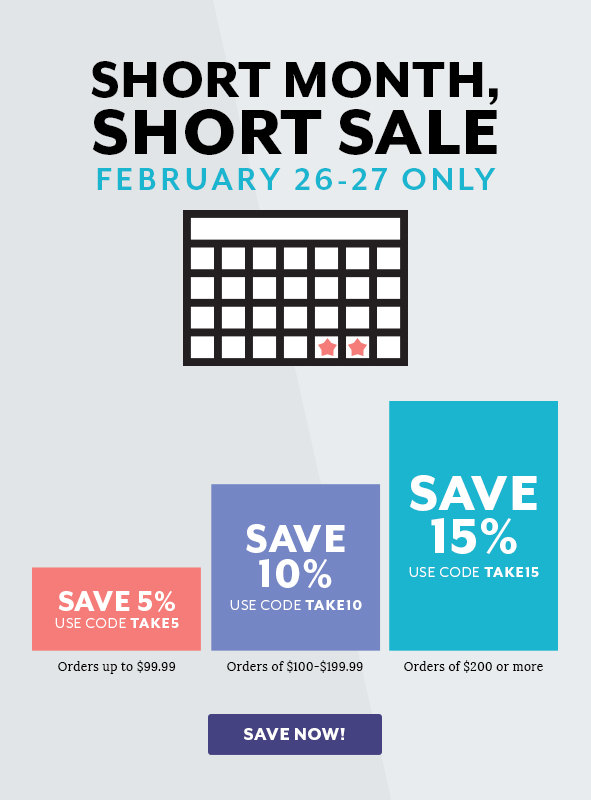 Short Sale, Short Month Sale!