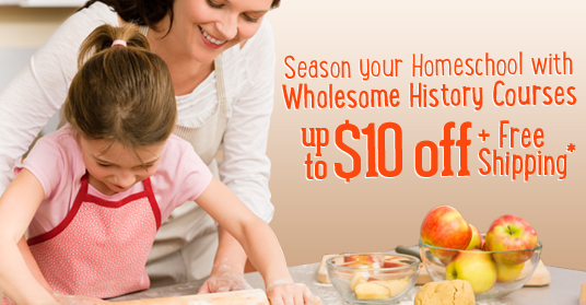 Season Your Homeschool with Wholesome History Courses