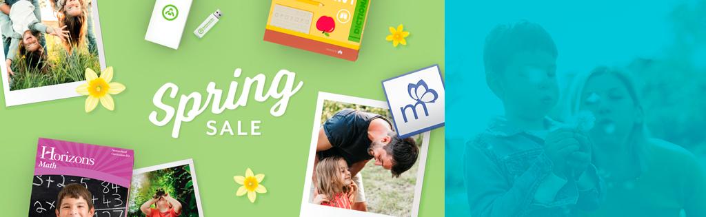 Spring Sale Begins