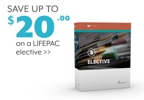 Save up to $20 on a LIFEPAC elective
