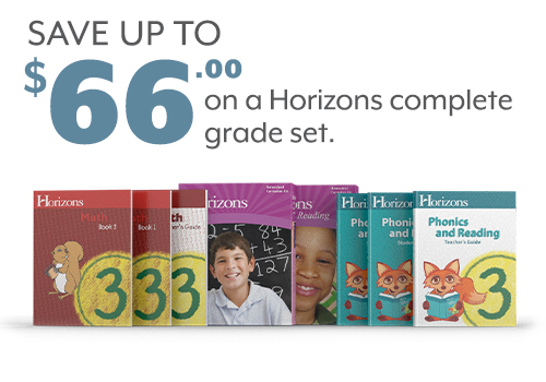 Save up to $66 on a Horizons Complete Grade Set