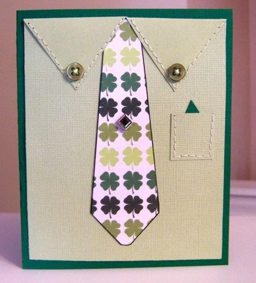Tie card