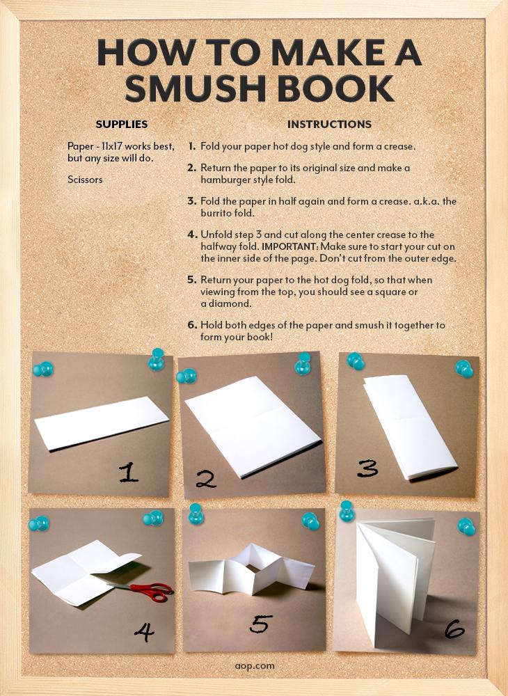 how to make a smush book aop homeschooling